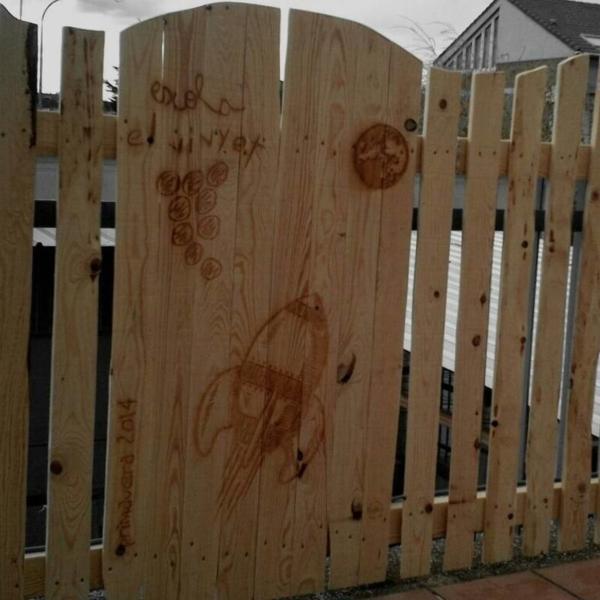 Grabados y cortes por láser en madera