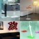 Artículos decoración hogar en metacrilato