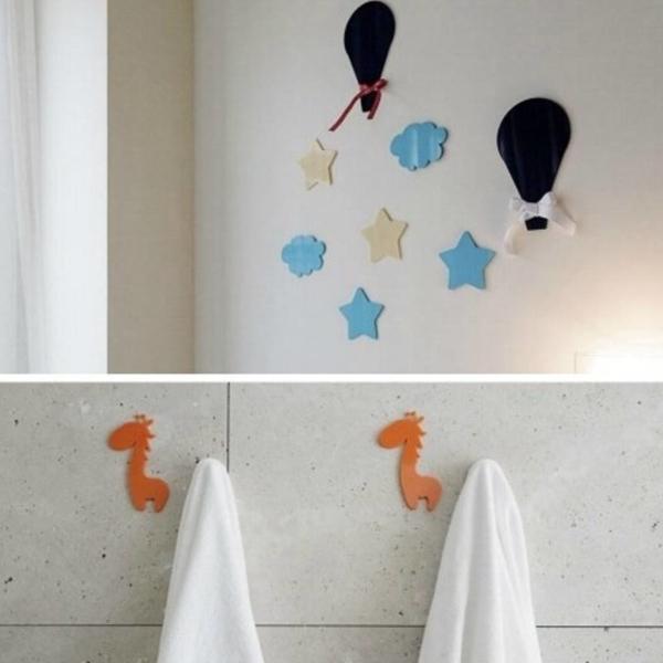 Colgadores para baño en metacrilato